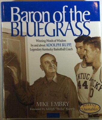 Embry - Baron of the Bluegrass - Towle House - 2000 - Includes Adrian Smith AUTO