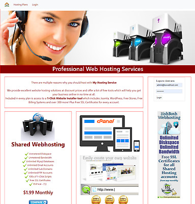 Become a cPanel Hosting Reseller Automated Billing System Work from Home THT02