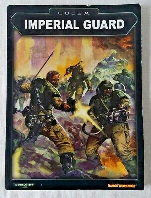 Warhammer 40K 3rd Edition Imperial Guard Second Codex (paperback, 2003) - OOP
