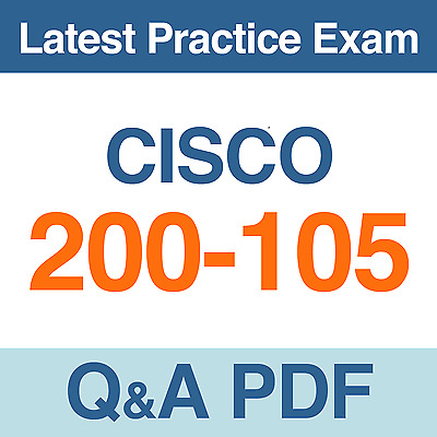 Cisco ICND2 v3.0 Practice Test 200-105 Exam Q&A