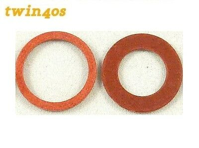 0Weber DCOE Carb Carburettor Fuel Union Banjo Bolt Fibre Seal Washers