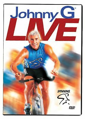 Spinning Johnny G Live Indoor Cycling DVD - Multicoloured