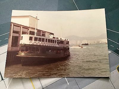 Hong Kong Star Ferry 'meridian Star' Sept 1978 - Original Print