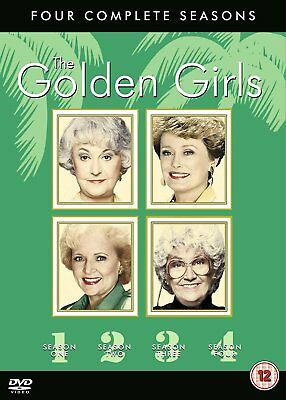 THE GOLDEN GIRLS - Complete TV Series / Season 1-4 (1 2 3 4) DVD BOX SET NEW