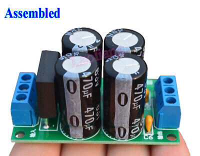Assembled Dual Power Rectifier Filter Board For LM1875T TDA2030A Amplifier DIY