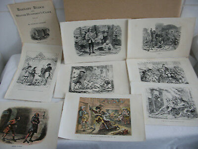 Lot of mixed bookplates from Barnaby Rudge vol 11.