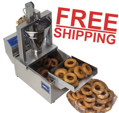 Small Business Compact Donut Fryer Maker Making Machine 80 Pcs/h