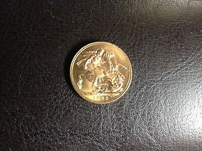 British Sovereign Gold Coin 1925 King George V South Africa Mint