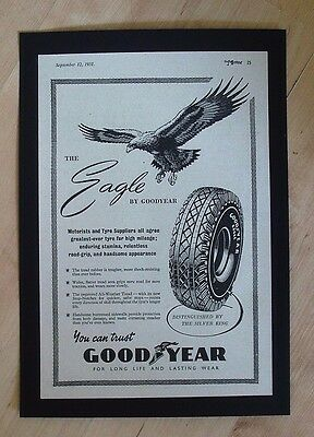 Good Year Tyres, Wolverhampton Original Vintage 1951 Advert Tires