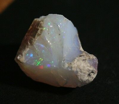 16.4ct Welo Crystal Opal Rough - Confetti Opal Rough - AAA Piece -See Video