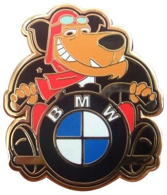Muttley The Cafe Racer Ace Bmw Motorcycle Beemer Enamel Pin Badge