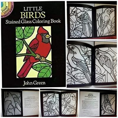 Coloring Book For Adult And Kids Little Birds Painting Exercise Relieve Stress