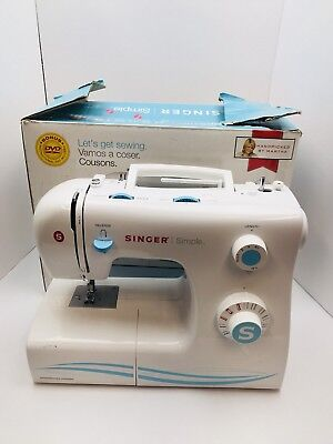 SINGER SIMPLE 40 40Stitch Sewing Machine White 4040 PicClick Amazing Singer Sewing Machine 2263 Troubleshooting