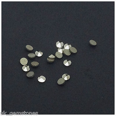 Natural Marcasite Round 1.5mm. 10 Pieces.