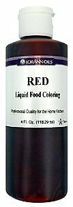 LorAnn Oils Liquid Colour - Red - 4 oz