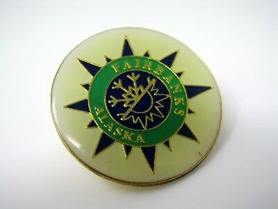 Vintage Collectible Pin: Fairbanks Alaska