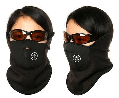 225 Pieces Fleece/Neoprene Facemasks for Winter Outdoor Sports PRICE REDUCTION!!