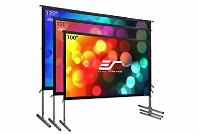 Elite Screens Yard Master 2 16:9, Foldable Outdoor Rear Projection 120-inch HD
