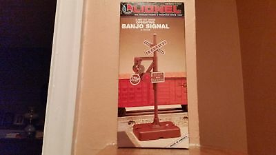 Lionel Operating Banjo Signal with Light/NIB, # 6-12709 or # 6-2140,1:50 Diecast