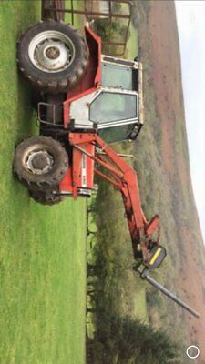 due in   massey 690 turbo with loader   4wd tractor with  more info to come