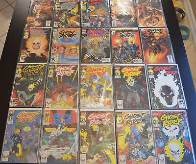 GHOST RIDER (20-Book) Comic LOT with #1-10, 15, 18, 25, 63 - HIGH GRADE (NM+)