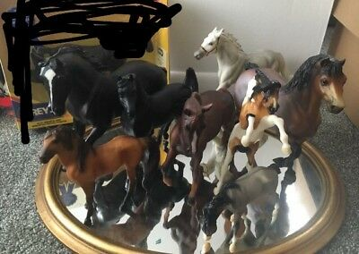 Large Breyer Horse Lot Of 8