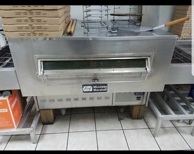 "Middleby Marshal Gas PS350G 32"" Belt Conveyor Pizza Oven"