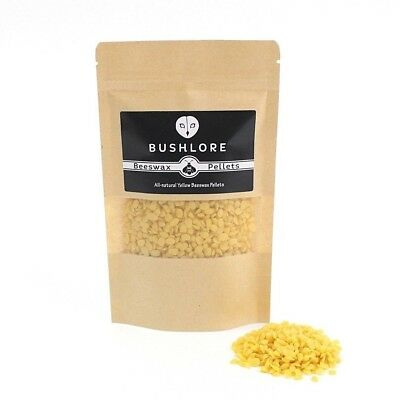 Beeswax Pellets, Natural Yellow Beeswax, Candles, Balms, Compound - 50g - 1kg