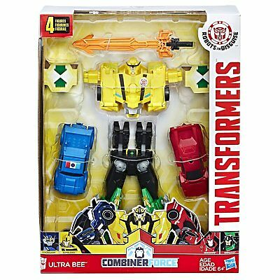 New Hasbro Transformers Robots In Disguise Combiner Force Ultra Bee C0626