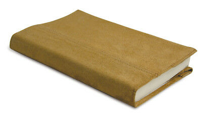 The Original Book Jacket/Cover - Real Suede (Tan)