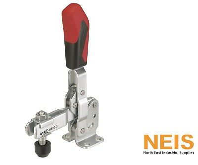 Vertical toggle clamp open clamping arm and horizontal base 6800 red or black