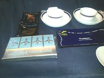 A Lot of (13) Thirteen  Travel Memorabilia Airlines Cruise line