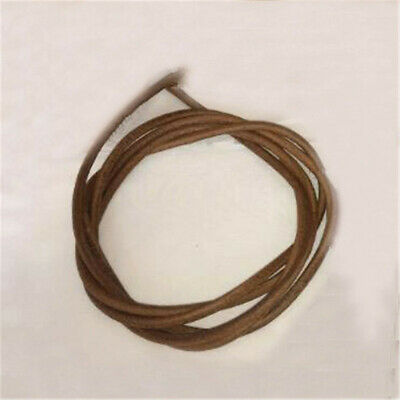 183cm Leather Belt Treadle Parts With Hook For Singer Sewing Machine 0.48cm Dia.