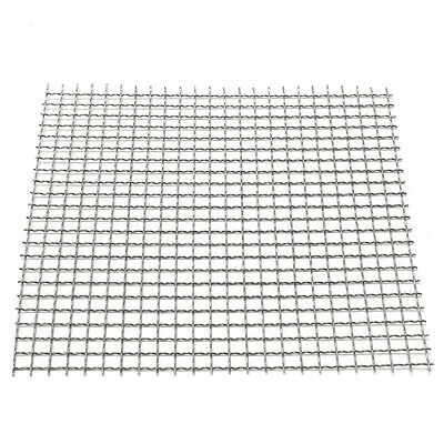 1pc Stainless Steel Filtration Woven Wire Cloth Screen 4/20/40/60/80 Mesh 6 Size