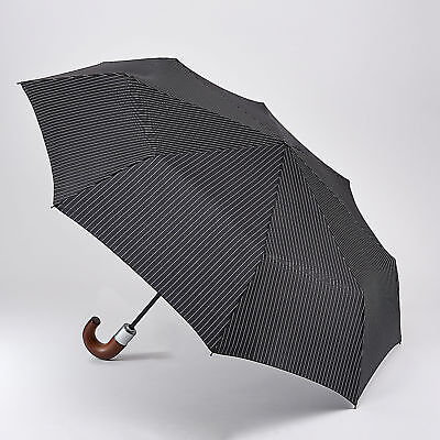 Fulton Chelsea Umbrella - City Stripe Black/Steel