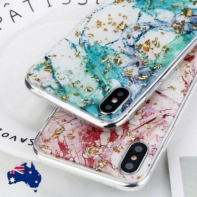 For iPhone XR X XS Max 8 Bling Glitter Thin Soft TPU Silicone Pattern Case Cover