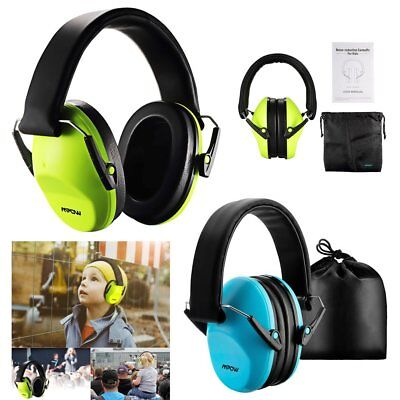MPOW 25db Ear Defenders Hearing Earmuffs Muffs Noise Reduction for Kids Children