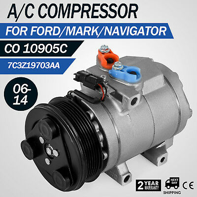 Set Ac Compressor  Lza For Ford Expedition Lobo F High