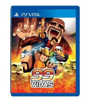 99Vidas PS Vita Strictly Limited Games SLG - Limited to 1000 copies