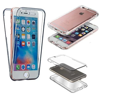 Coque full cover intégral silicone TPU IPHONE 4/4S 5/5S 6/6S/PLUS/X/XR/XS MAX
