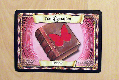 Harry Potter Trading Card Game 2001 Transfiguration Card 116 Of 116