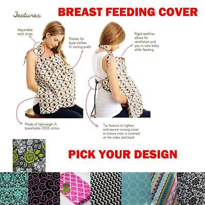 Large breast feeding cover nursing mother and bab