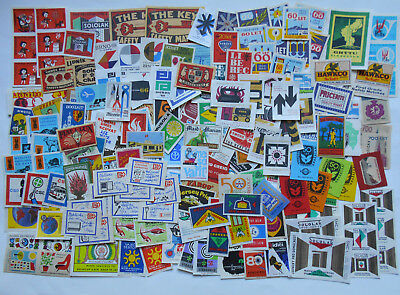 More then 200 Old Czechoslovakian Matchbox Labels 10.