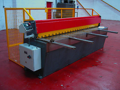 New CARTER Direct Drive Guillotine 2.5m x 3.25mm Sheet Metal Fabrication Shear