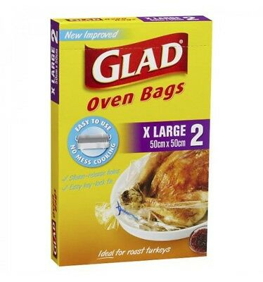 Glad Extra Large Oven Bags 2pk x 12