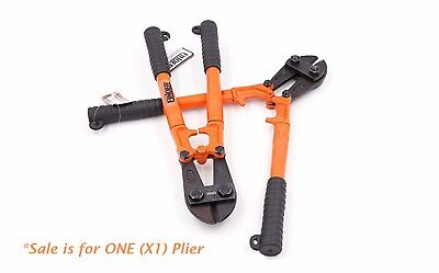 """X1 14"""" Heavy CR-V Duty Wire Cutting Pliers Flat Nose Bolt Cutter Clippers Tool"""