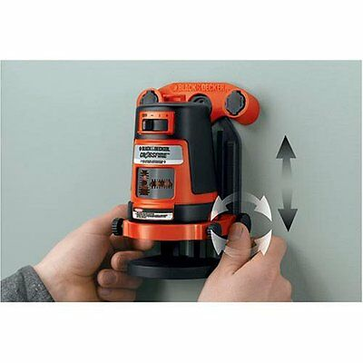 Vertical and horizontal laser ink out BDL310S Laser leveler BLACK & DECKER