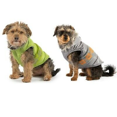 NEW Ancol Traditional Nordic Dog / Puppy Extra Warm Thick Fleece Coat with Hood