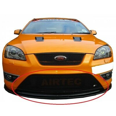 Zunsport Ford Focus ST 2005-2007 Front BLACK Full Width Lower Grille - RS Look
