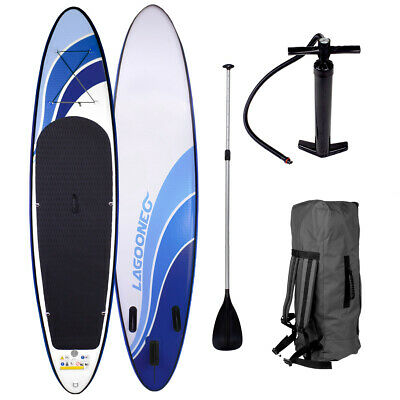 SUP Board Stand Up Paddling Surfboard aufblasbar inkl. Paddel ISUP Paddle 300cm